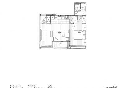 1. emelet - utcai
