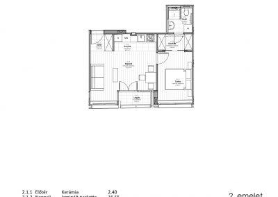 2. emelet - utcai