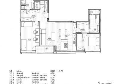 3. emelet - utcai