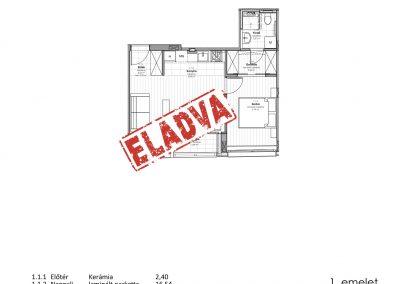1. emelet – utcai - 1.1