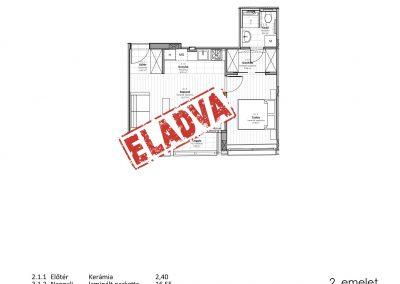 2. emelet – utcai – 2.1