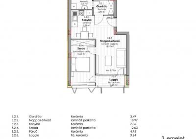 3. emelet - utcai 3.2
